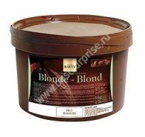 Светлая глазурь Blond 5 кг. Cacao Barry (Какао Барри)