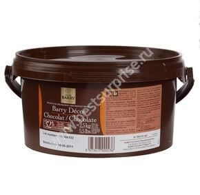 Скульптурный шоколад Barry Decor Chocolate (шоколад для лепки) Cacao Barry 2.5 кг