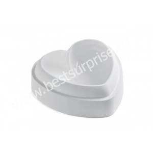 Силиконовая форма для торта с вырубкой TiAmo (Сердце), (Silikomart / Италия)