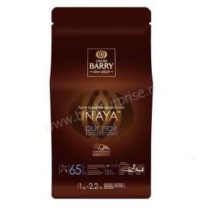 Шоколад кувертюр темный Inaya 65%, Cacao Barry 1кг.