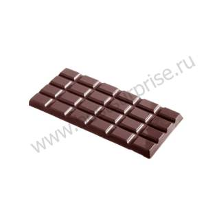 Поликарбонатная форма для шоколадных плиток CW2162, Chocolate World