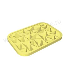 Silicone mold for decoration 3D Top ice Iceberg (Iceberg), Pavoni