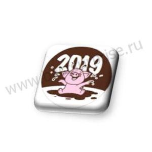 """Формы с переводным рисунком для шоколада """"Розовый поросенок"""""""