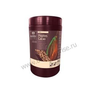 Дробленые какао-бобы в кар-нном шоколаде Pepites Cacao, Cacao Barry