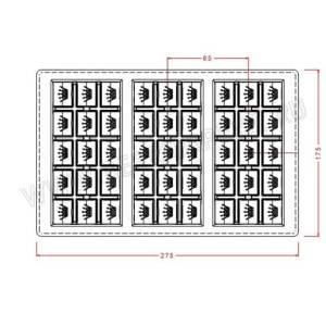 Поликарбонатная форма для шоколада IM227