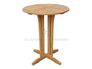 Round Cordova Bar Table