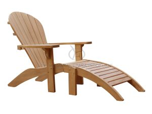 New Adirondack Chair With Ottoman