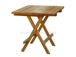 square picnic table 50cm slat indonesia furniture