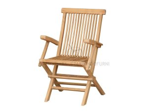 Classic Folding Arm Chair