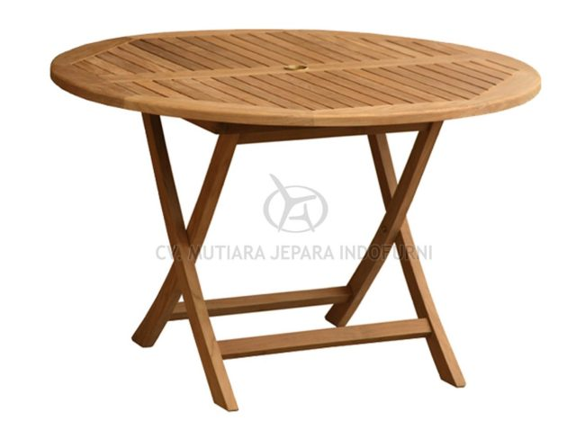 Classic Folding Table Indonesia Furniture Manufacturer
