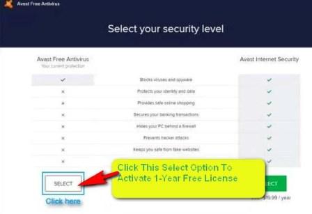 Avast License Key Activation Code Free