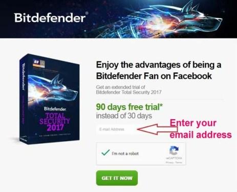 Bitdefender Total Security 2018 Free Serial Key