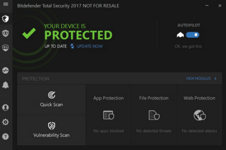 Bitdefender Total Security 2018 Free Trial for 90 Days
