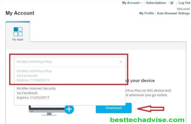McAfee Antivirus Plus Software