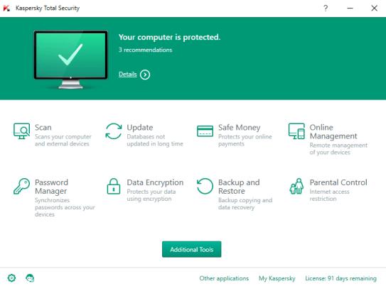 Kaspersky Total Security Free Trial