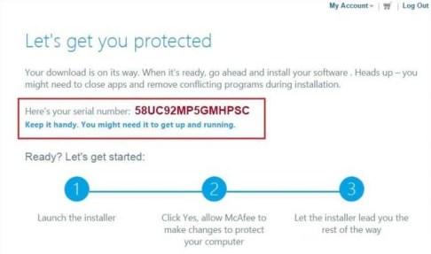 McAfee Code for Antivirus Plus 2021