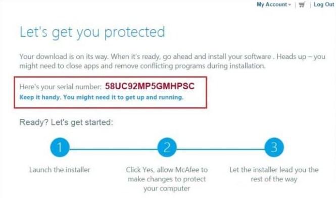 McAfee Antivirus Plus 2017 Free Serial