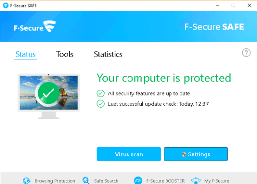 F-Secure Safe Subscription Key Free for 6 Months 2020