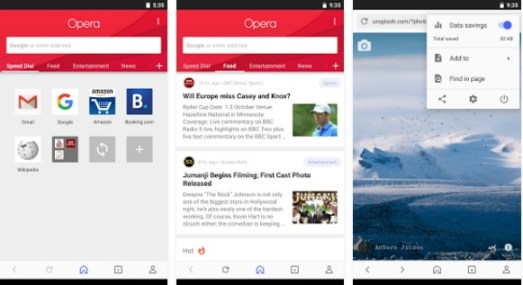 Best Secure Browser for Android Apps 2021