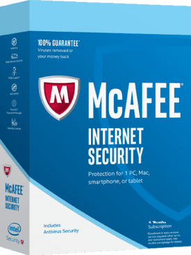 McAfee Internet Security 2021 Free Subscription for 6 Months - 180Days