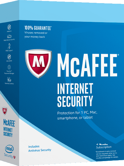 Mcafee Internet Security 2019 Free 6 Months Subscription - 180Days