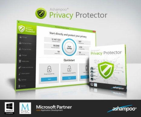 Ashampoo Privacy Protector License Key 2021 Free Download