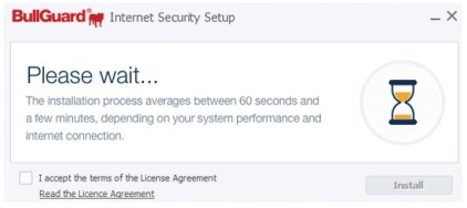 BullGuard Internet Security Install System