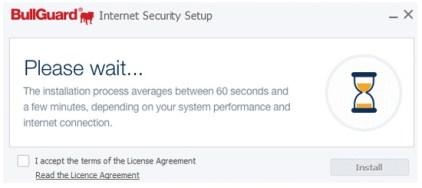 BullGuard Internet Security Install System