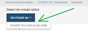 Covert Pro Free Download
