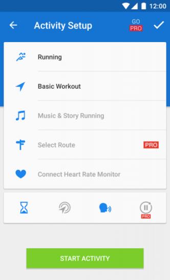 fitness tracker app 2019