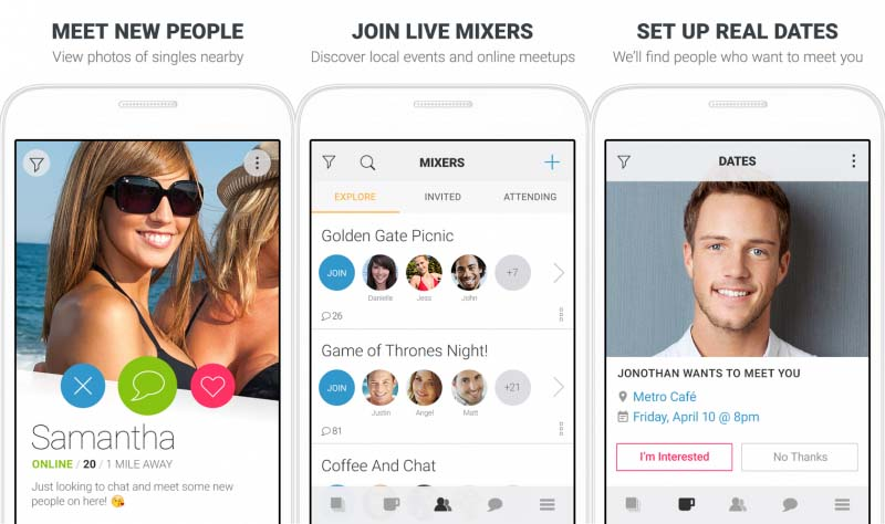 beste Social Networking dating apps voor Android