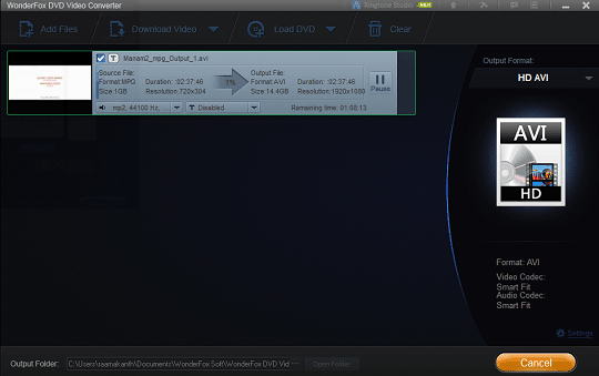 WonderFox DVD Video Converter Full Verison with License Code Free
