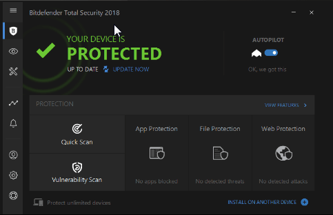 Bitdefender Total Security 2019 Free 6 Months Subscription Download