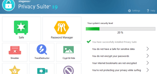 Steganos Privacy Suite 19 License Key Free Download (Latest Version)