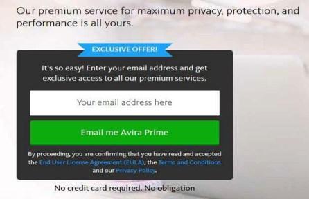 Avira Prime Free License Key for 90Days