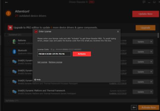 IObit Driver Booster Pro 6 License Key Free