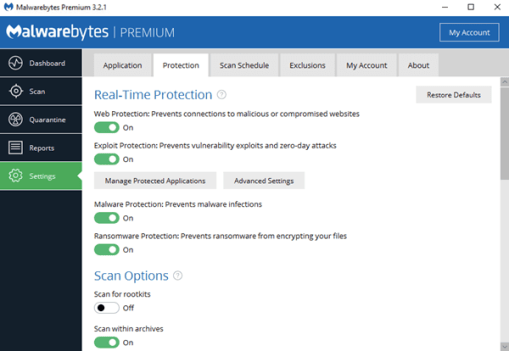 Malwarebytes Offline Installer for Windows 10 Free Download 64-bit