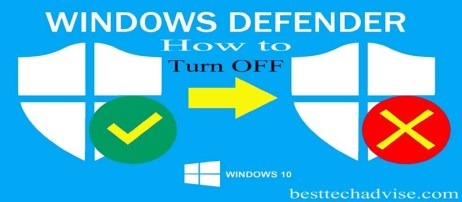 How to Turn Off Windows Defender in Windows 10 - Parmanently