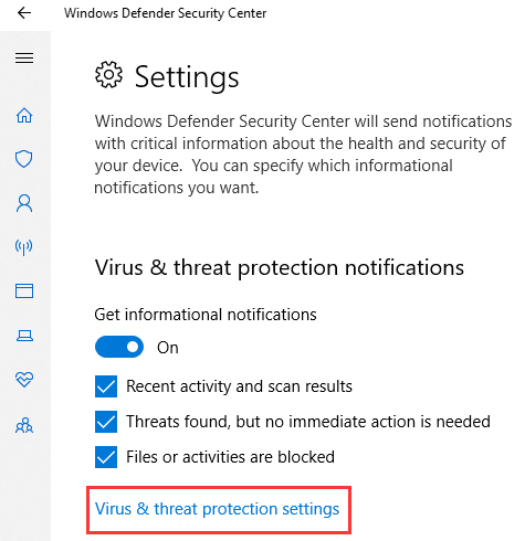 Stop Windows 10 Defender