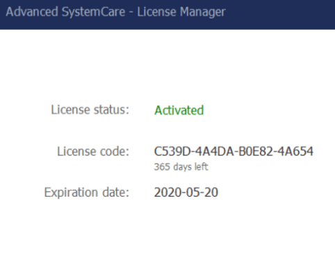 Iobit Advanced SystemCare 12 Pro License Key