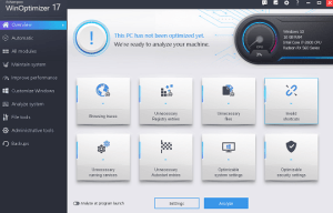 Ashampoo WinOptimizer 17 License Key Free Download for 1 Year