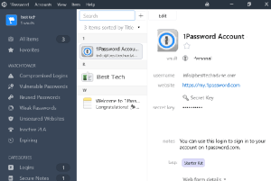 1Password Password Manager Free 1 Year Subscription Family Edition