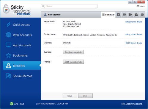 Sticky Password Premium 8.4 License Key Serial 1 Year Free Download