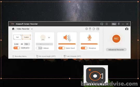 Aiseesoft Screen Recorder License Free for Windows