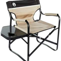 Coleman Portable Deck Chair Toddler And Table Set With Side Folding Reliable Best Tent Cots For Camping