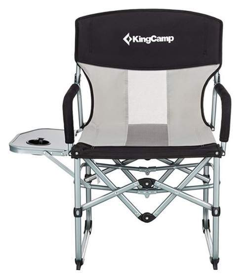 camping chairs with side table blue desk chair target 12 best folding tent cots for kingcamp heavy duty compact