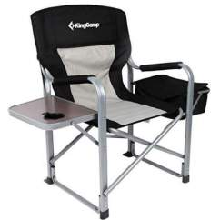 Best Folding Chair Covers Hire 12 Camping Chairs With Side Table Tent Cots For Kingcamp Heavy Duty Steel And Cooler