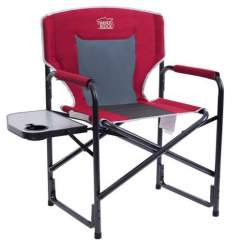 Outdoor Folding Chair With Side Table Pvc Lounge 12 Best Camping Chairs Tent Cots For Timber Ridge Director S
