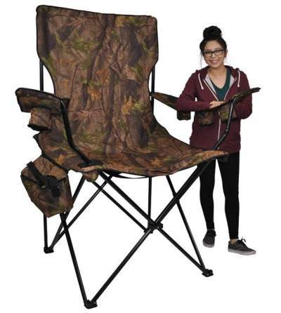 23 best camping chairs for heavy people