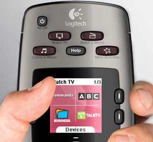 Logitech Harmony 650 Infrared All In One Remote Control Bg